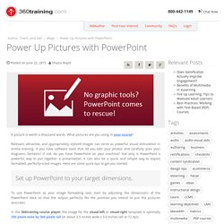 Power Up Pictures with PowerPoint