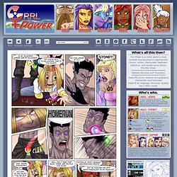 Grrl Power - A webcomic about superheroines.