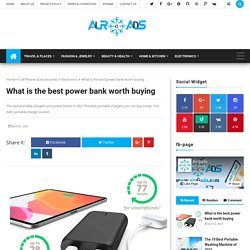 What is the best power bank worth buying - airGads