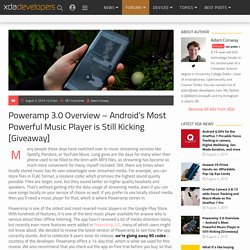 Poweramp 3.0 - Overview of Android's Most Powerful Music Player