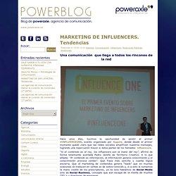 Powerblog - Blog de poweraxle, agencia de comunicación