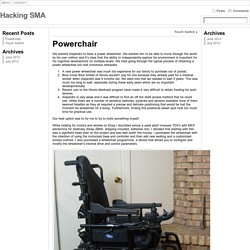 Powerchair « Hacking SMA