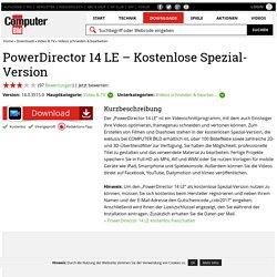 PowerDirector 14 LE – Kostenlose Spezial-Version 14.0.3515.0