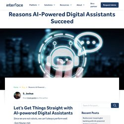 Why you need an AI-powered Digital Assistant - AI in Business