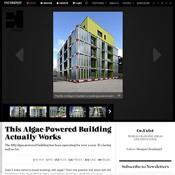 This Algae-Powered Building Actually Works