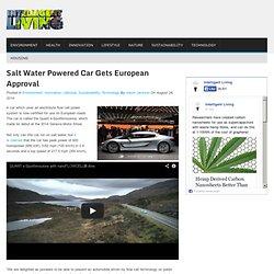 Salt Water Flow Cell Car Gets European Approval