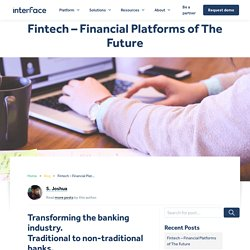 AI-powered Banking. Fintech & financial platforms of the future.