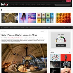 Solar-Powered Safari Lodge in Africa