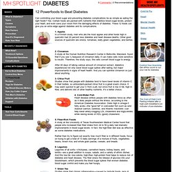 12 Powerfoods : Diabetes : Men's Health Spotlight