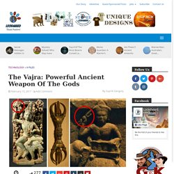 The Vajra: Powerful Ancient Weapon Of The Gods - Look4ward