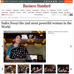 Indra Nooyi the 2nd most powerful woman in the World