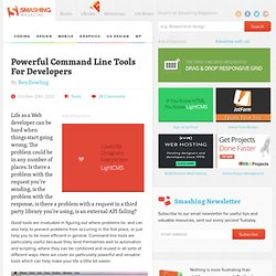 Powerful Command Line Tools For Developers