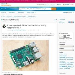 A more powerful Plex media server using Raspber...