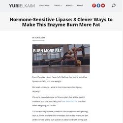 3 Ways This Powerful Enzyme Helps You Burn More Fat