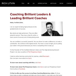 Rich Litvin - Powerful Coaching for Extraordinary People