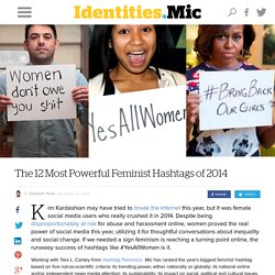 The 12 Most Powerful Feminist Hashtags of 2014