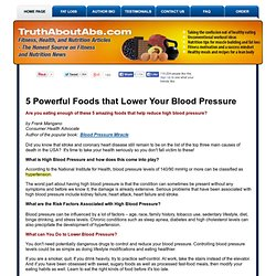5 powerful foods that help reduce blood pressure
