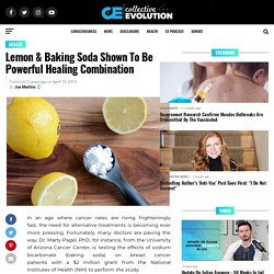 Lemon & Baking Soda Shown To Be Powerful Healing Combination