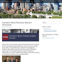 Canada's Most Powerful Women Honoured