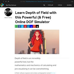 Learn Depth of Field with this Powerful (& Free) Online DOF Simulator
