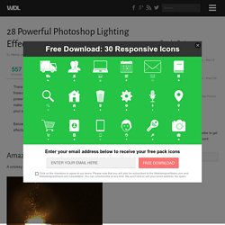 28 Powerful Photoshop Lighting Effects | Tutorials