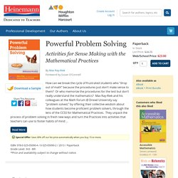 Powerful Problem Solving by Max Ray-Riek