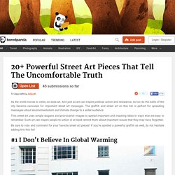 20+ Powerful Street Art Pieces That Tell The Uncomfortable Truth