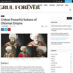 5 Most Powerful Sultans of Ottoman Empire - Ertugrul Forever Forum
