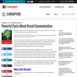 Powerful Facts About Visual Communication | The Mindjet Blog