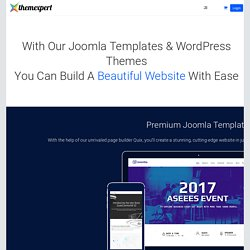Professional Joomla Templates and Extensions
