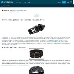Powerlifting Belts For Female Power Lifters