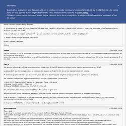 POWERLINE > la rete su corrente elettrica - LE VS: ESPERIENZE [Archivio] - Pagina 39