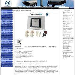 Pack alarme VISONIC Powermax Pro 2 www.alarmfutur.kingeshop.com