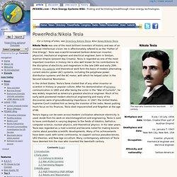PowerPedia:Nikola Tesla