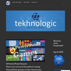 10 PowerPoint Games – tekhnologic