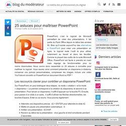 Astuces maîtrise PowerPoint