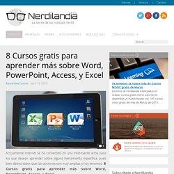 8 Cursos gratis para aprender más sobre Word, PowerPoint, Access, y Excel