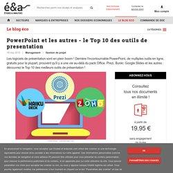 PowerPoint et les autres : le Top 10 des outils de présentation