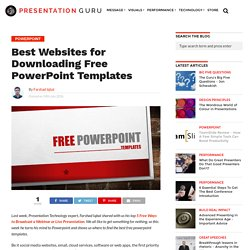 Best Websites for Free Powerpoint Templates