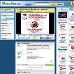 1-800-294-5907 PowerPoint presentation