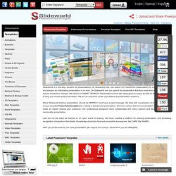 PowerPoint(PPT) Search Engine - Search and Share PPT Template & Slides with SlideWorld - A PPT Search Engine