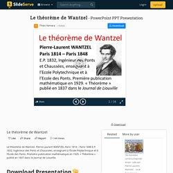 Le théorème de Wantzel PowerPoint Presentation, free download - ID:2170792