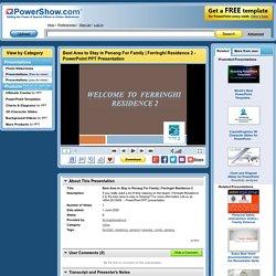 Ferringhi Residence 2 PowerPoint presentation