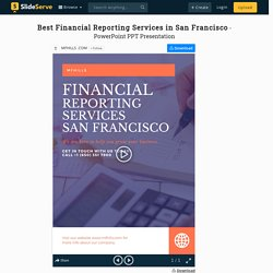 Best Financial Reporting Services in San Francisco