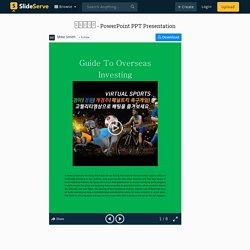 토토사이트 PowerPoint Presentation, free download - ID:10005566