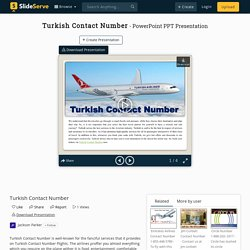 Turkish Contact Number