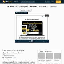 Customized E-Bay Template Designed by OCDesignsOnline