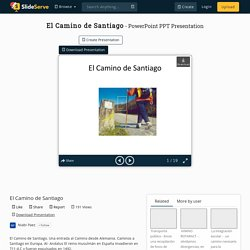 El Camino de Santiago PowerPoint Presentation, free download - ID:2853364