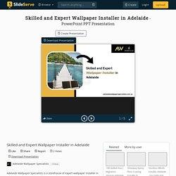 Skilled and Expert Wallpaper Installer in Adelaide