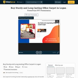 Buy Sturdy and Long-lasting Office Carpet in Logan